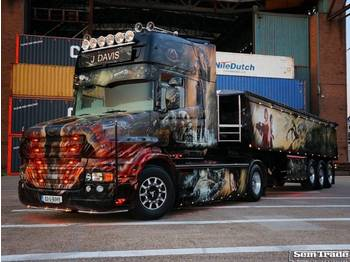 Scania T580 TOPLINE TORPEDO SPECIAL SHOW TRUCK ONE OF A KIND - cabeza tractora