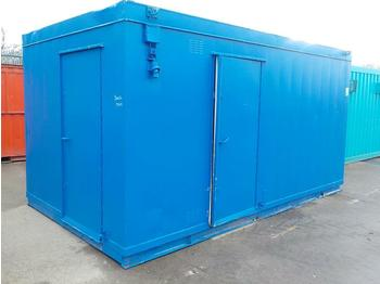 16' x 9' Double Toilet Block - carrocería intercambiable/ contenedor
