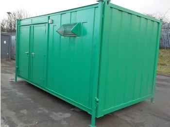 16' x 9' Double Toliet Block - carrocería intercambiable/ contenedor