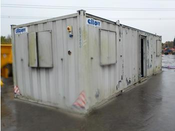 32' x 10' Containerised Locker Room - carrocería intercambiable/ contenedor