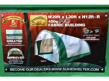 Unused 2020 20' x 30' x 12' Dome Storage Shelter - casa contenedor