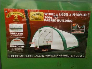 Unused 2020 30' x 65' x 15' Dome Storage Shelter - casa contenedor