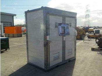 Unused 2020 Suihe Portable Toilet c/w Double Closestools - carrocería intercambiable/ contenedor