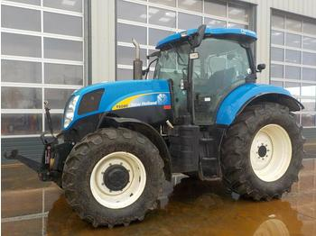 2010 New Holland T6080 - tractor agricola