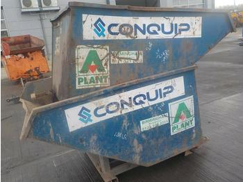 Conquip Tipping Skip to suit Forklift (2 of) - hormigonera