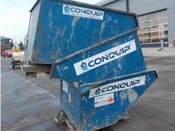 Conquip Tipping Skips to suit Forklift (3 of) - hormigonera