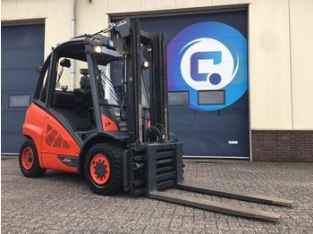 Linde H40D Gabelstapler - Forklift - Side Shift - Fork adjustment - GOOD CONDITION !! - carretilla elevadora cuatro ruedas
