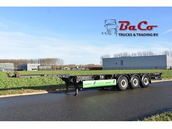 Semirremolque portacontenedore/ intercambiable Krone SD CONTAINER CHASSIS - BPW AXLES - DISC BRAKES -